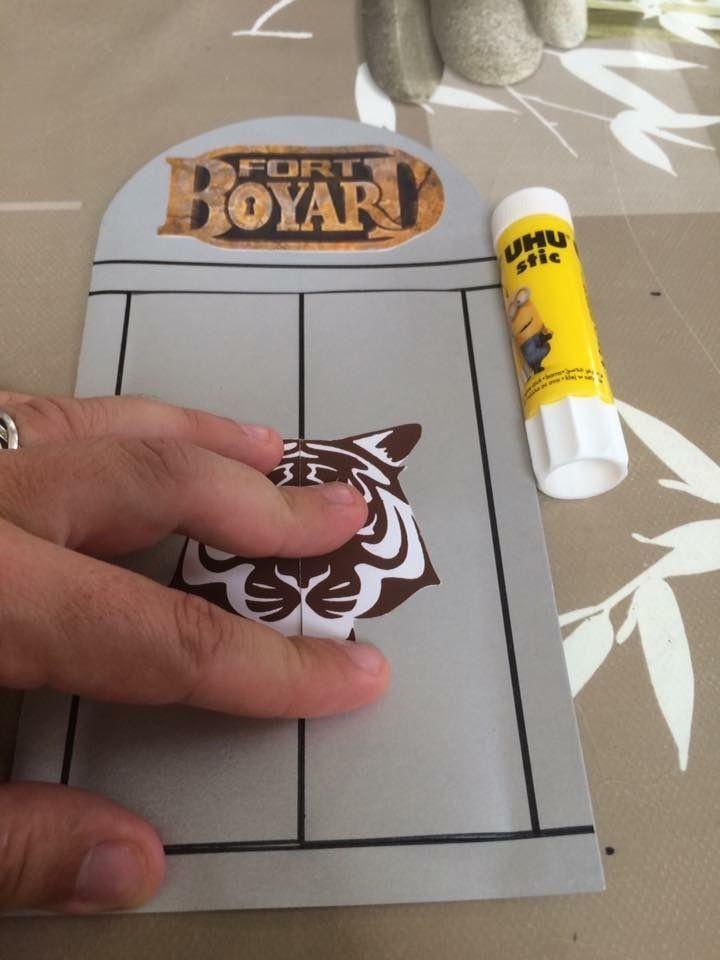 Cartes danniversaire sur le thème de Fort Boyard