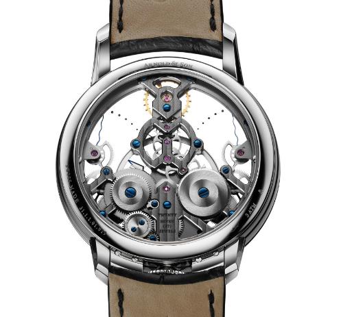 đồng hồ Arnold & Son phiên bản thep không gỉ