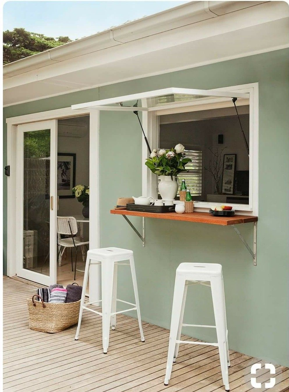 Kitchen Window Bar   House, Home remodeling, House design