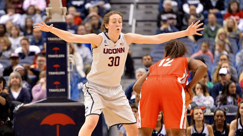espnW -- Connecticut Huskies women's basketball star Breanna Stewart credits dad for introducing her to love of her life