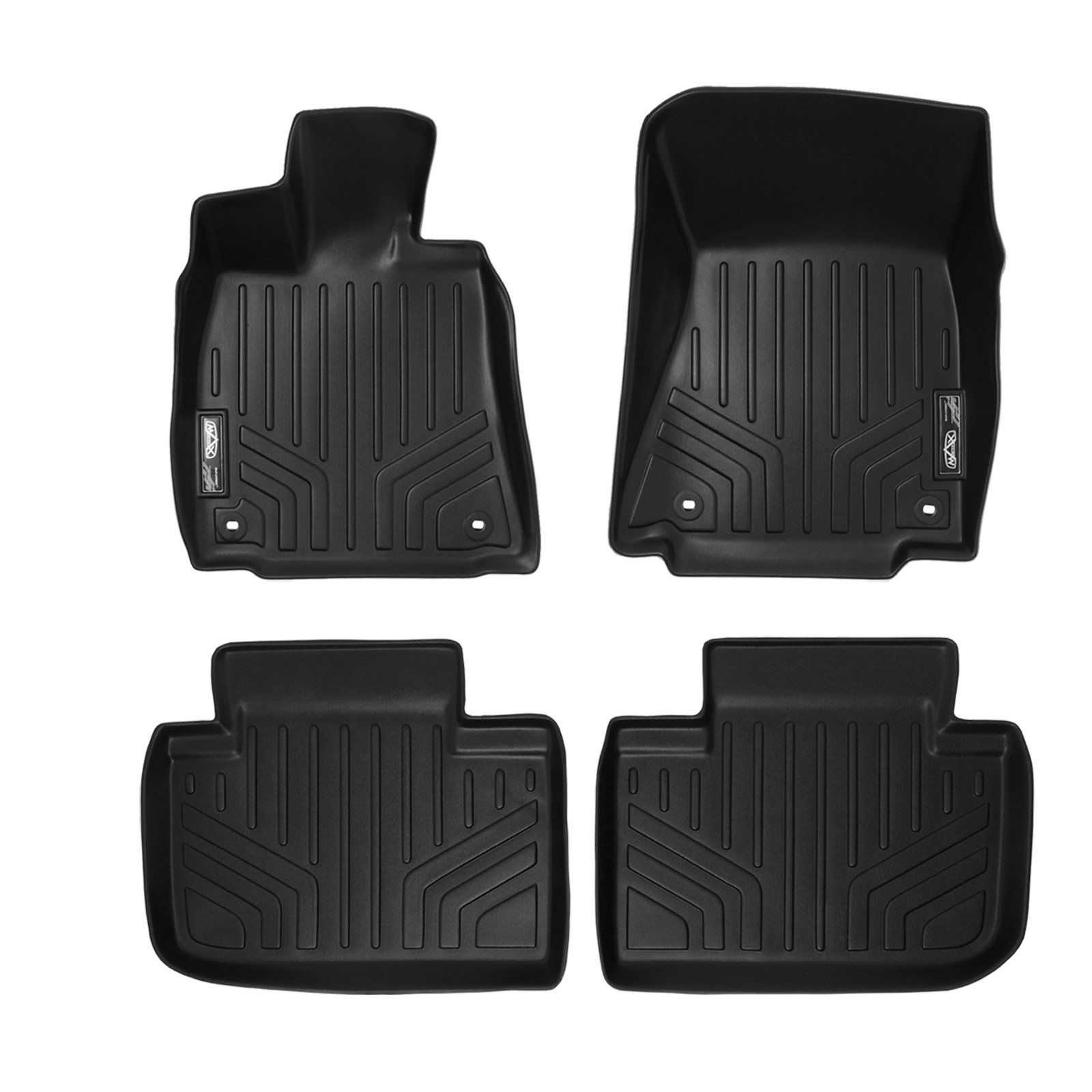 Smartliner Floor Mats 2 Row Liner Set Black For 2014 2018 Lexus Is Sedan Rear Wheel Drive Only Check Out The Image B In 2020 Camry 2015 Rear Wheel Drive Body Style