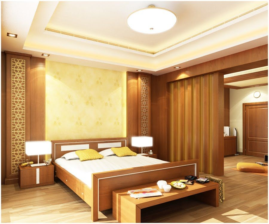 False ceiling lighting designs for master bedroom beauty for Design bedroom lighting