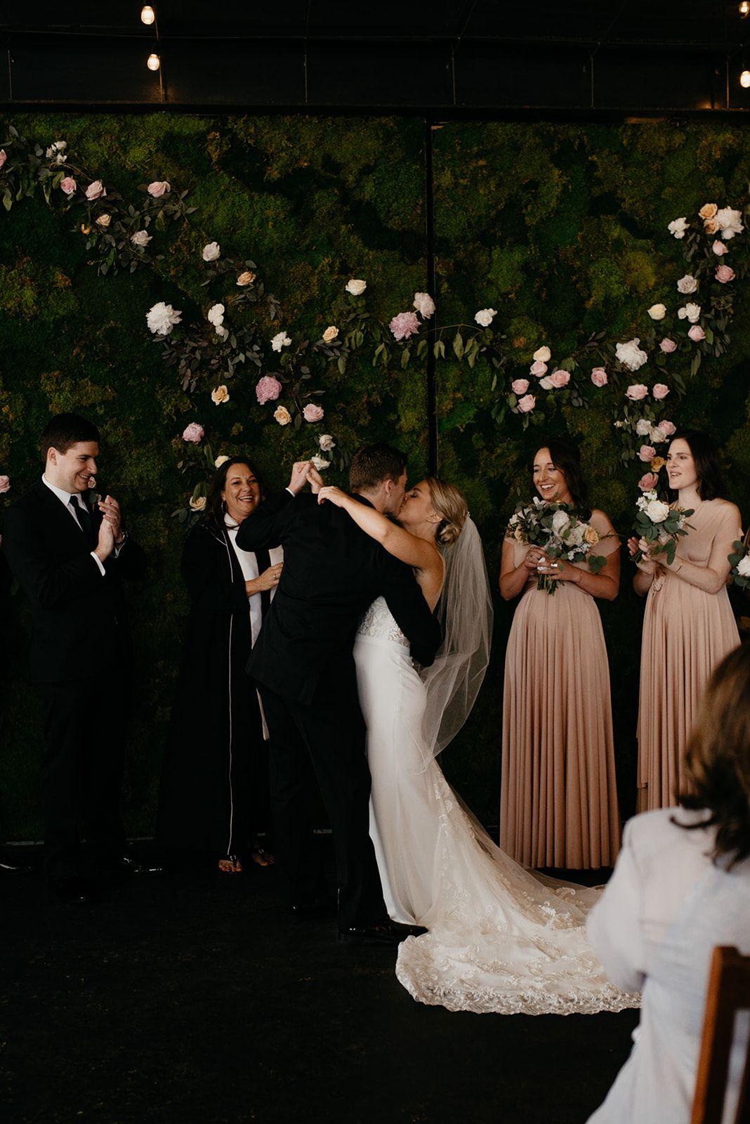 Industrial and Urban Denver Wedding via Rocky Mountain