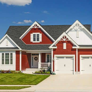 12 Exterior Paint Colors To Help Sell Your House Exterior Paint Colors For House House Paint Exterior Red House Exterior