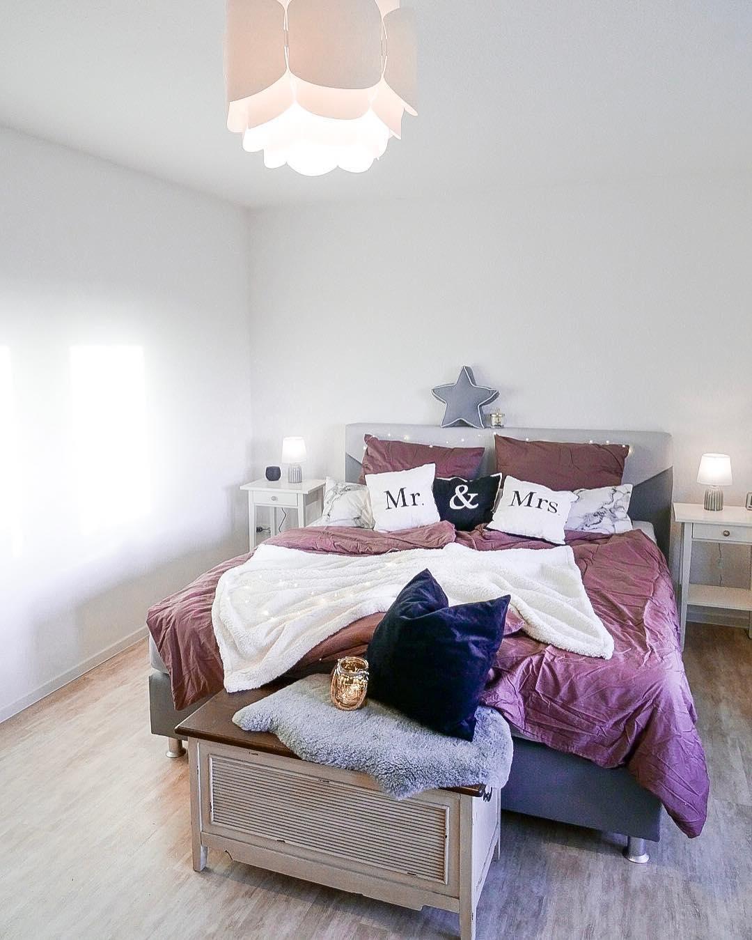 Kissenhüllen Mr. & Mrs., 3-tlg | Pinterest | Flauschige bettwäsche ...