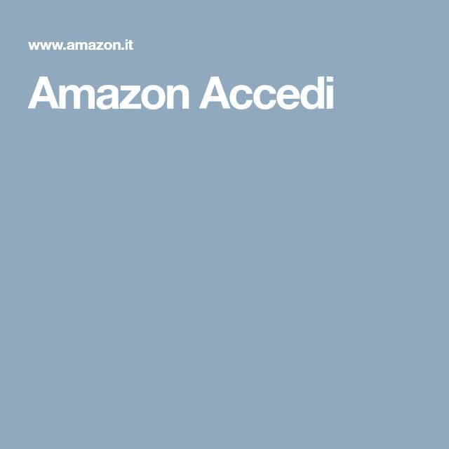 Amazon Accedi