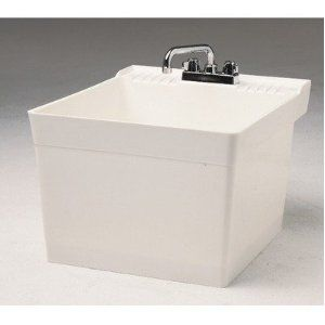 Fiat L 1 Wall Hung Service Sink White Sink Utility Sink