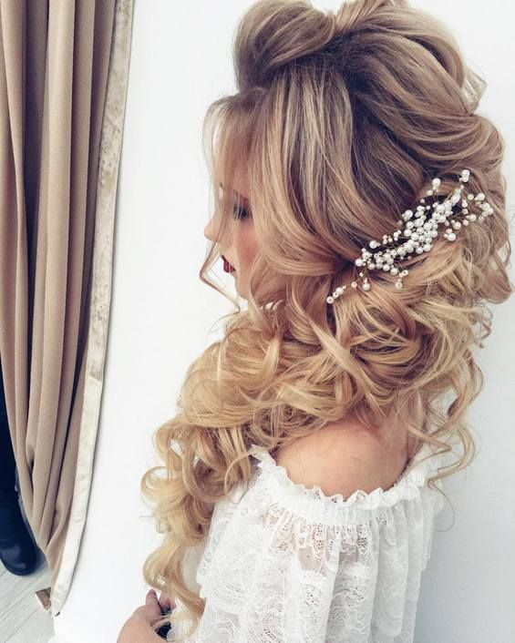 17 Gorgeous Wedding Updos For Brides In 2019: 65 Long Bridesmaid Hair & Bridal Hairstyles For Wedding