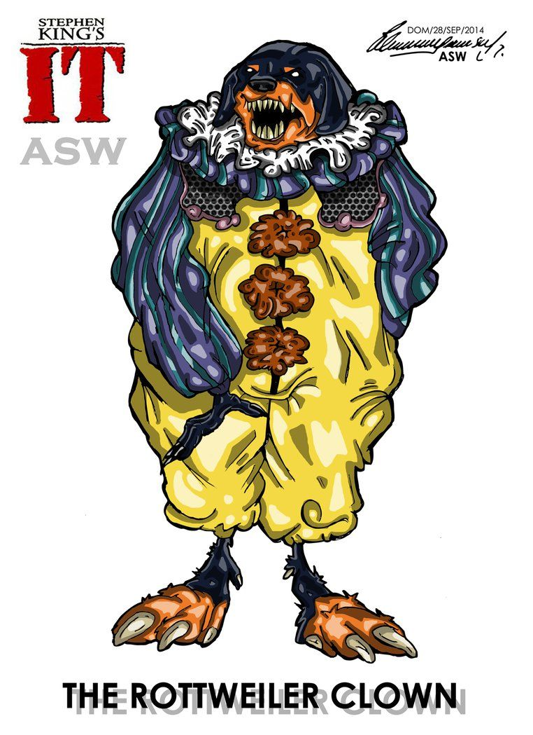 Pennywise Hungry Dog Stephen King`s IT FanArt by AlexGangster20Comic on DeviantArt