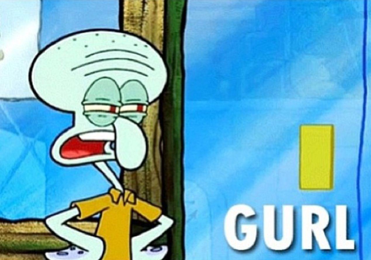 gurl squidward that spongebob life pinterest spongebob