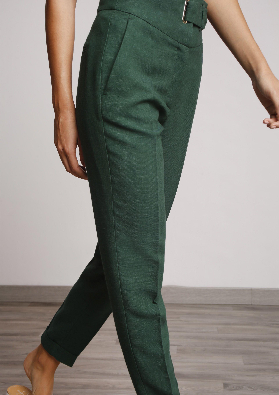 Pantalon Verde Botella Pantalones Verdes Faldas Pantalon Pantalones