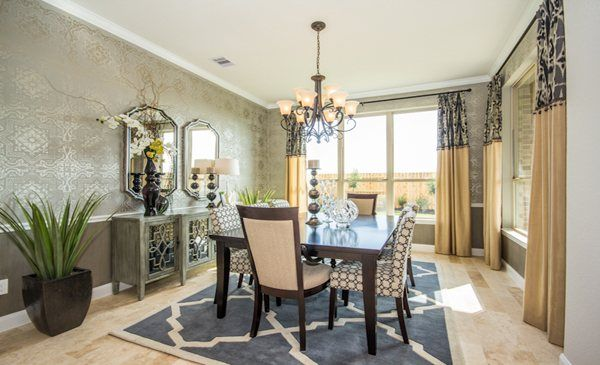 Amazing Formal Dining Room, Cinco Ranch: Patio Homes Champions Collection By Our  Village Builders