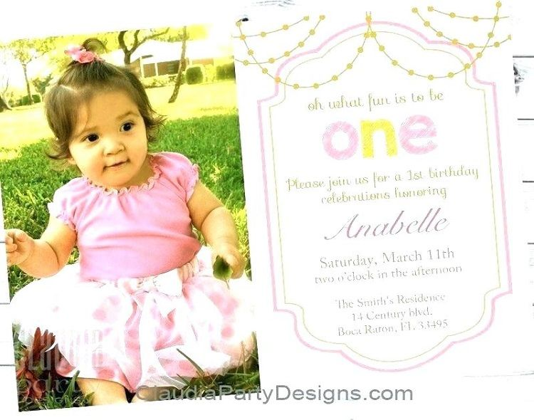 First Birthday Invitation Sayings Check More At Cardpedia 2018