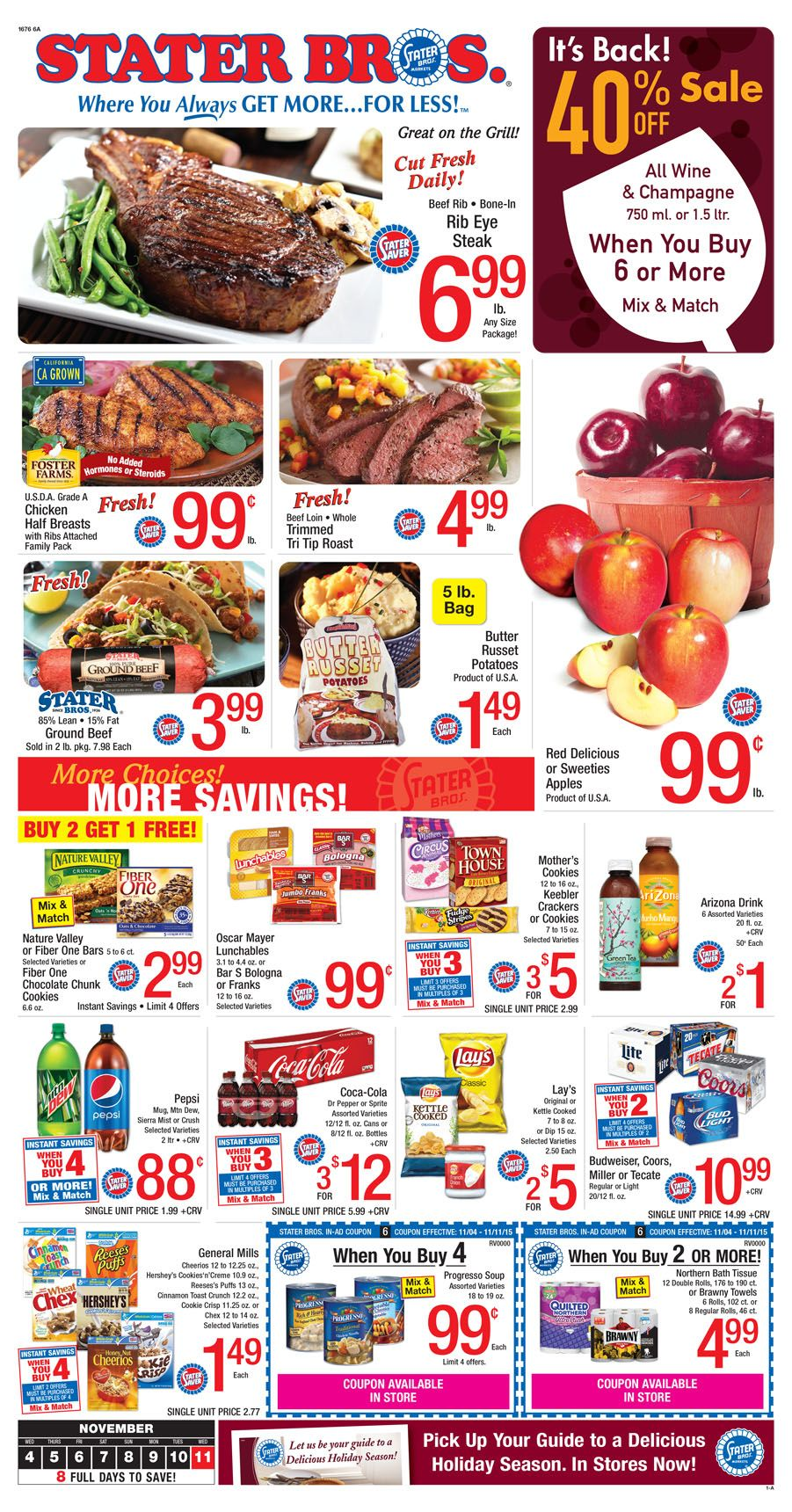 coupons stater bros grocery