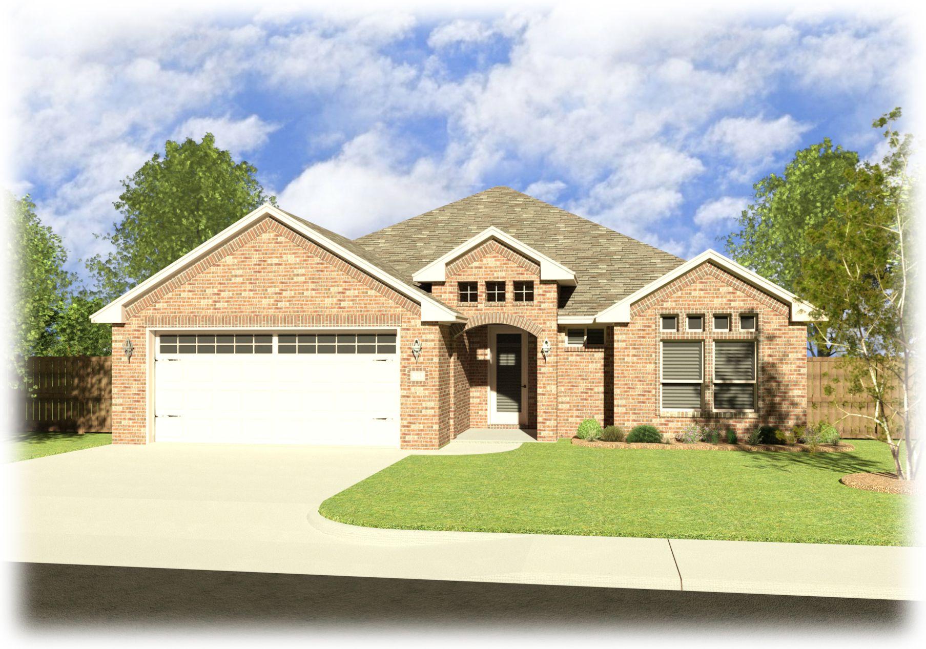 Daniela Elevation B In Daybreak Estates Midland Texas New Homes Building A House Midland