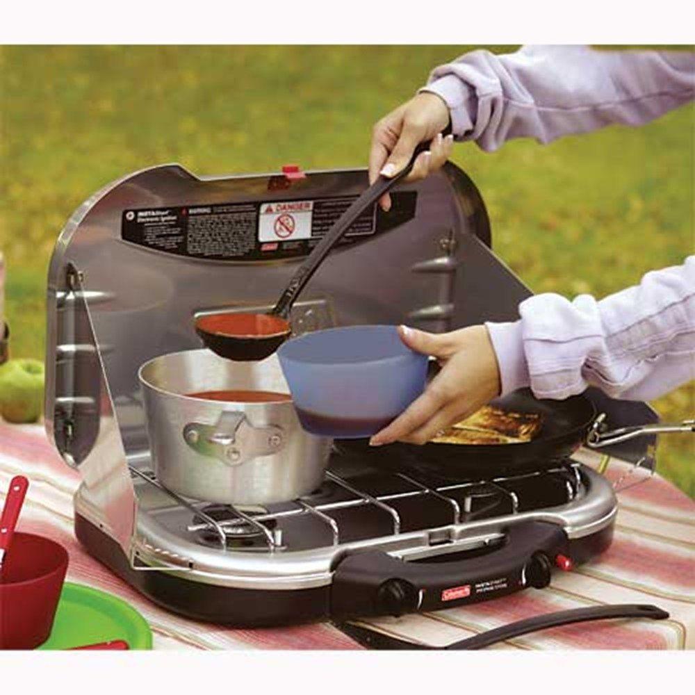 100 Camp Stove Recipes On Pinterest: PerfectFlow™ InstaStart™ 2-Burner Stove