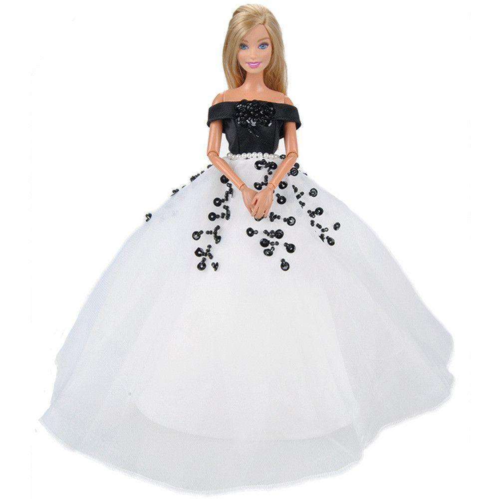 Eting beautiful handmade doll clothes evening dress princess gown