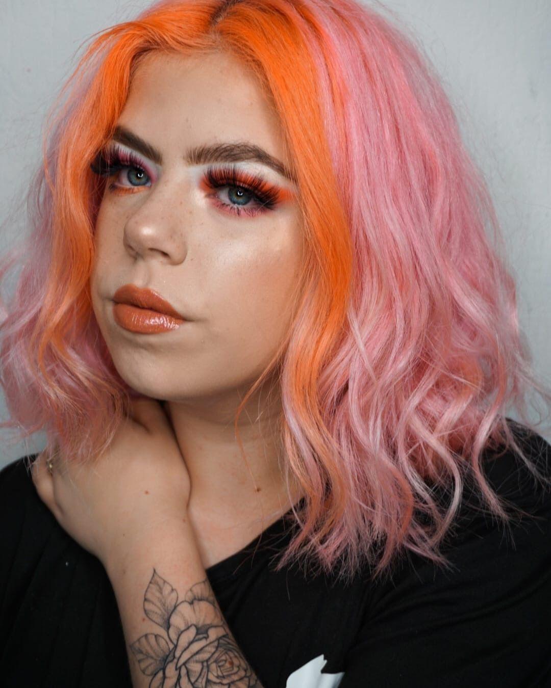 Pin By Rachel K On Hair In 2020 Hair Inspo Color Stylish Hair Colors Dyed Hair