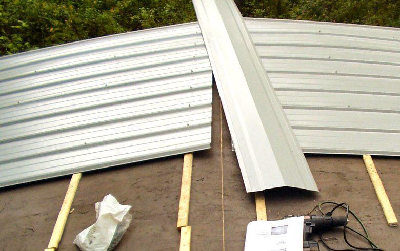 Mobile Home Metal Roof Replacement Install Diy Mobile Home Repair In 2020 Mobile Home Roof Fireplace Remodel Mobile Home Repair