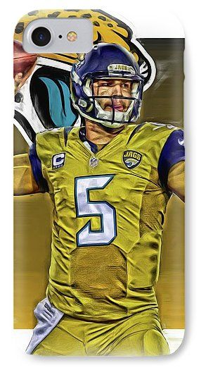 34d47fe0 Blake Bortles Jacksonville Jaguars Oil Art IPhone 7 Case for Sale by ...