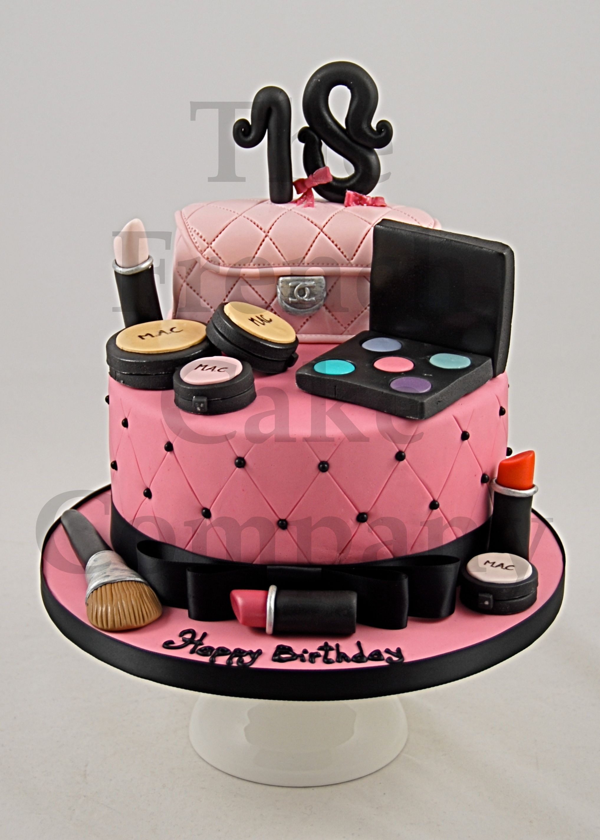 Cake Images For Teenager : Cake for teenagers Make up Camas fondat Pinterest ...