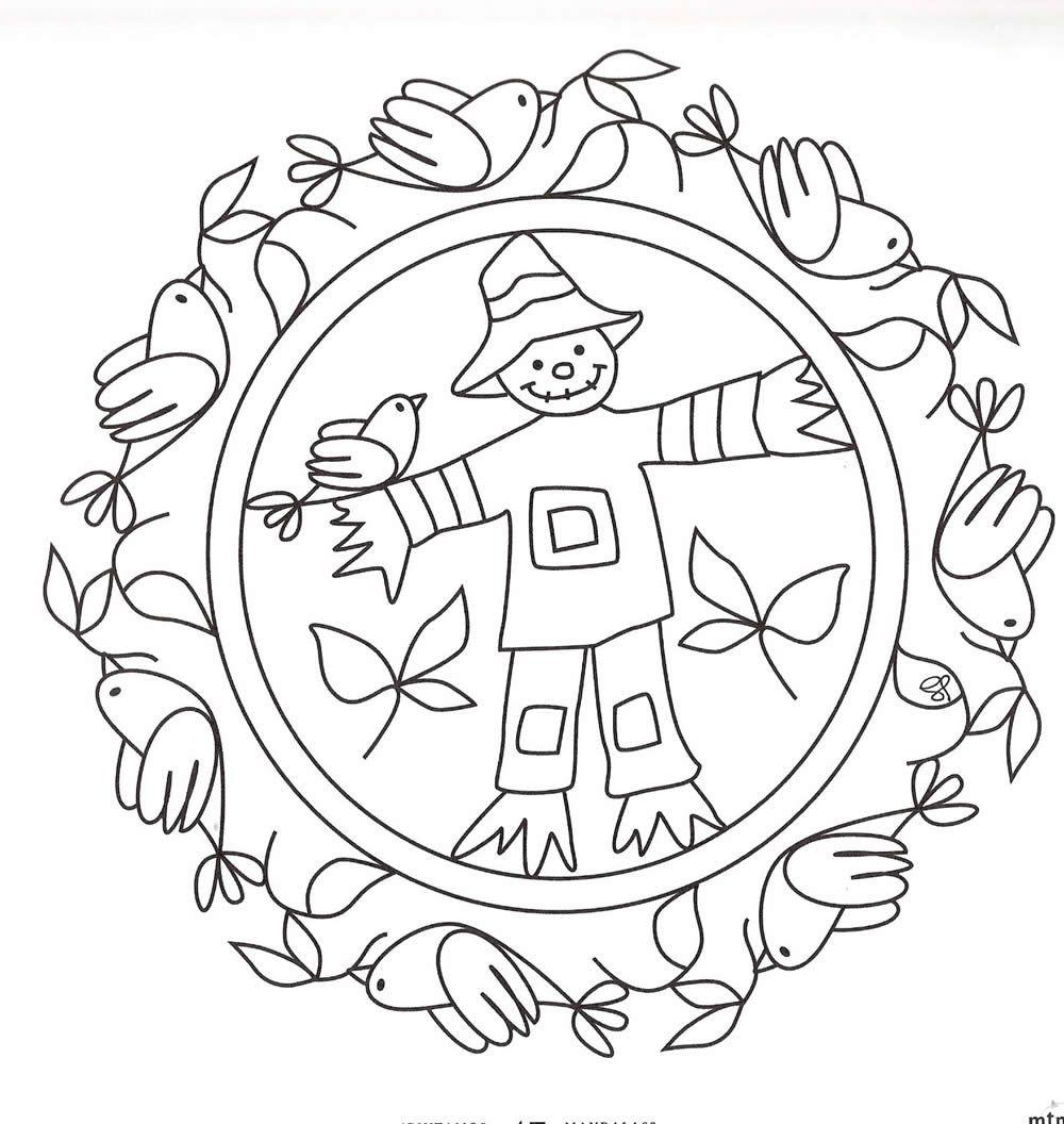 dibujos de mandalas  Mandalas kinder, Mandala herbst, Ausmalbilder