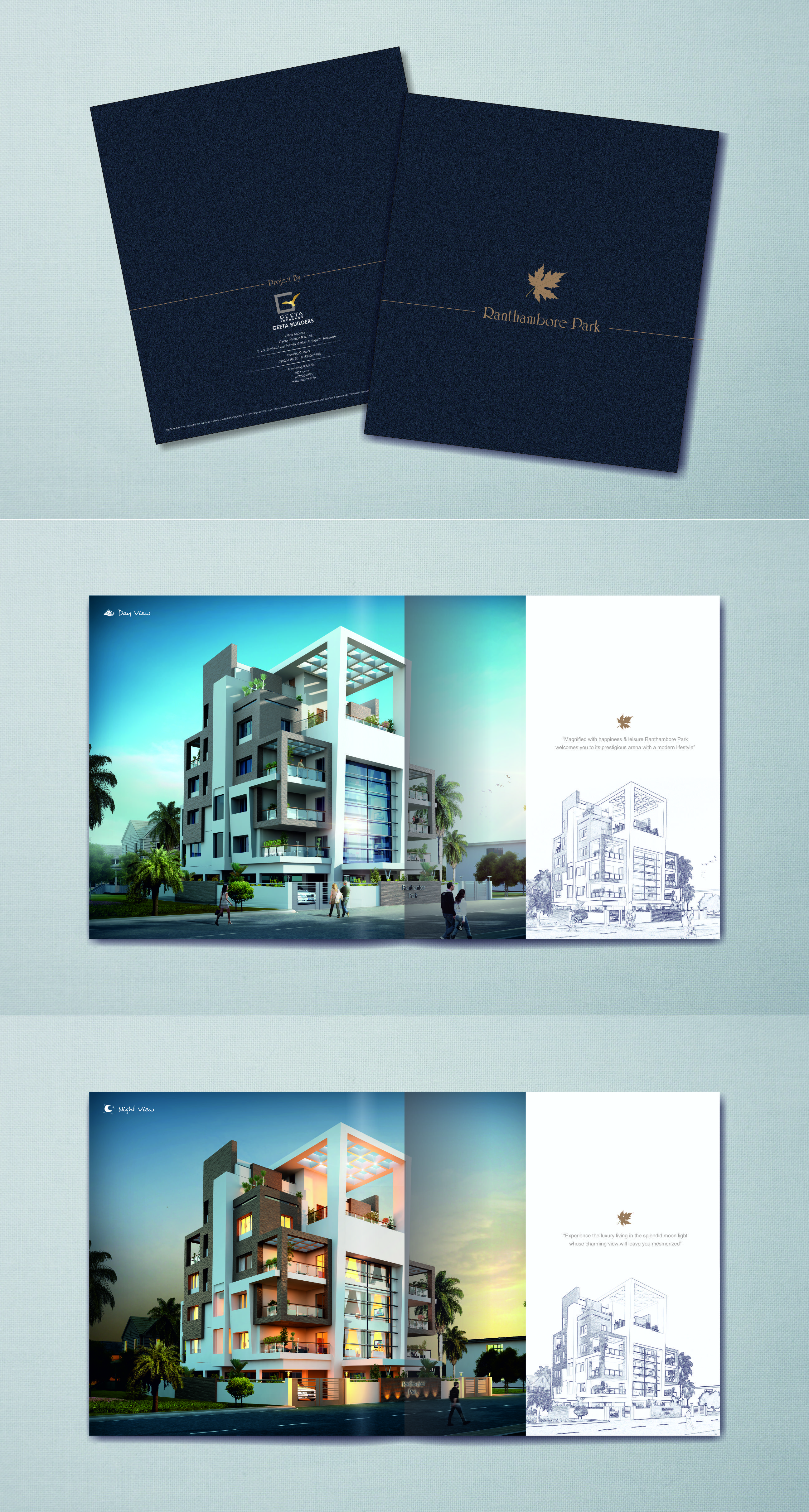 Brochure Designing Of An Apartment Project