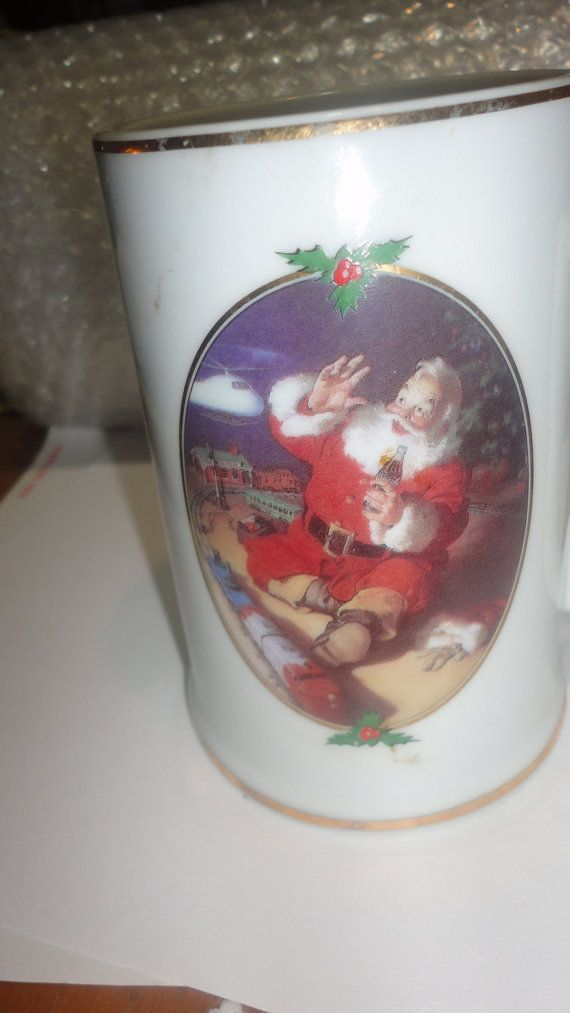 Coca Cola christmas mug Collector edition by PatsapearlsBoutique, $8.99