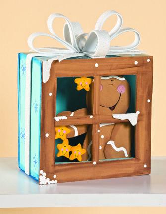 Ventanas con personajes para decorar en Navidad Ideas Pinterest