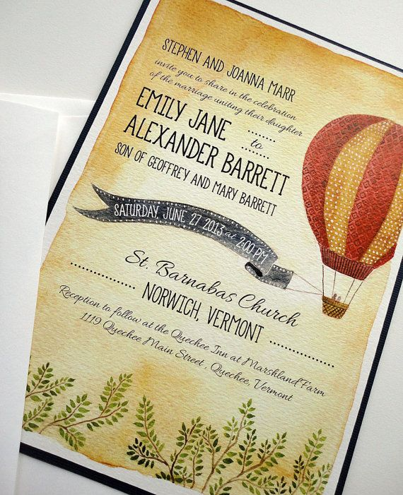 Hot+Air+Balloon+Wedding+Invitation+Sample+by+NooneyArt+on
