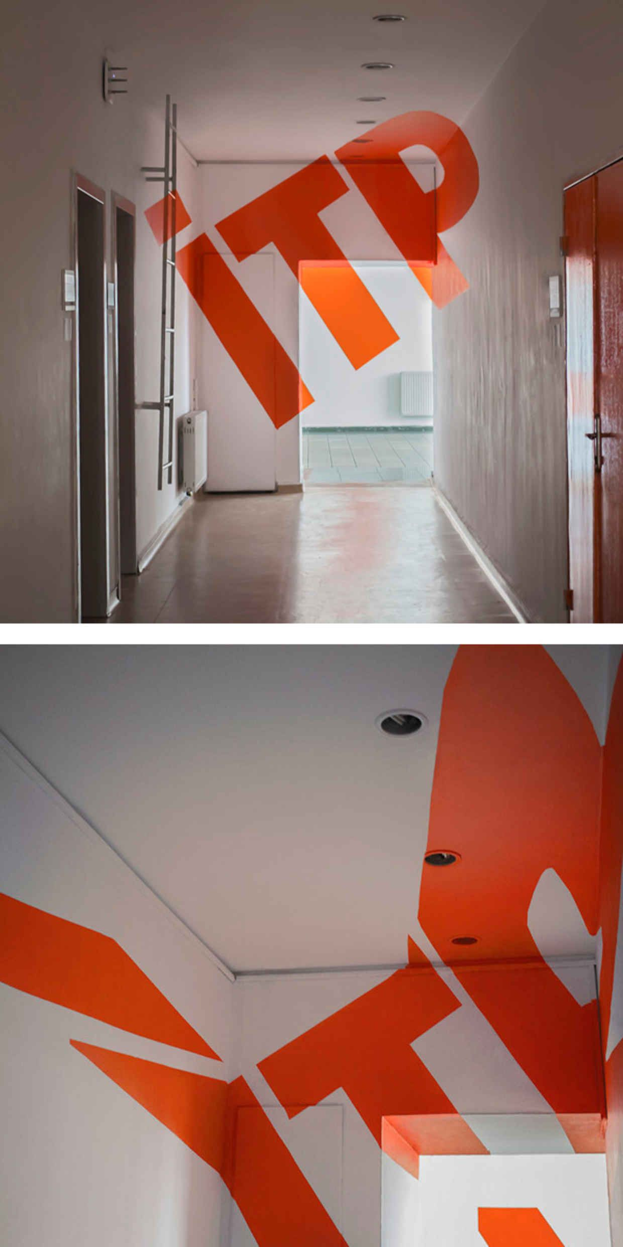 12 Awesome Optical Illusions Using Typography ANAMORPHIC Optical Fascinating Optical Illusion Fanette Guilloud