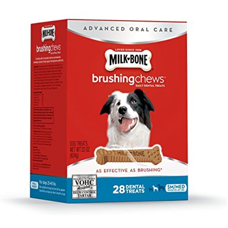Milk Bone Brushing Chews Daily Dental Treats Small Medium Value