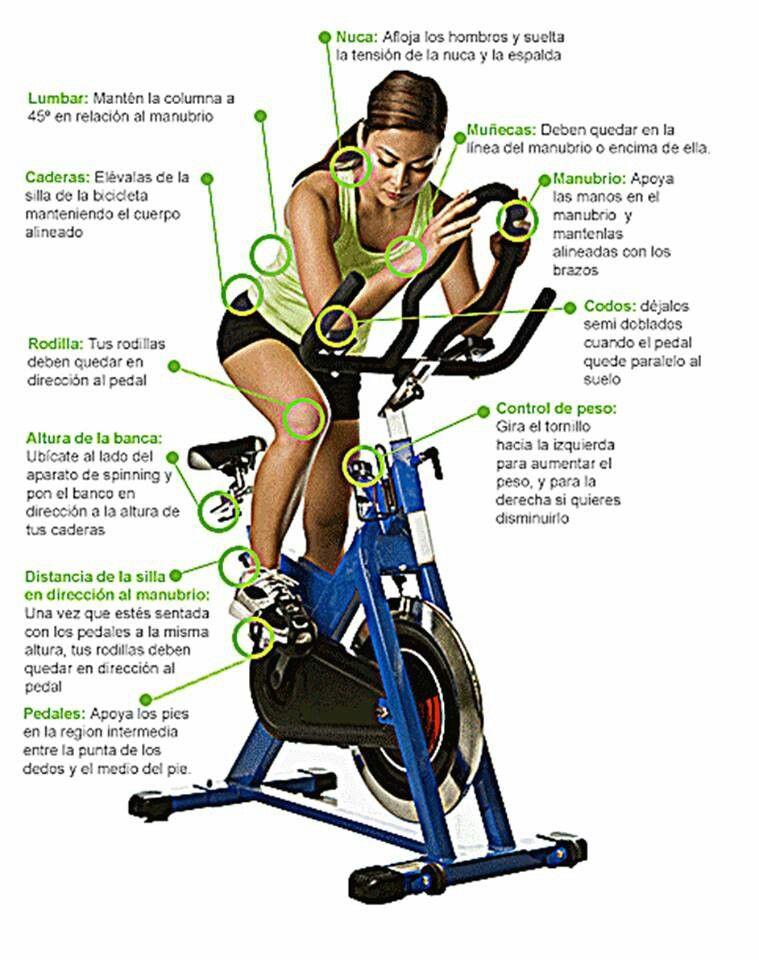 Adelgazar piernas con bicicleta estatica