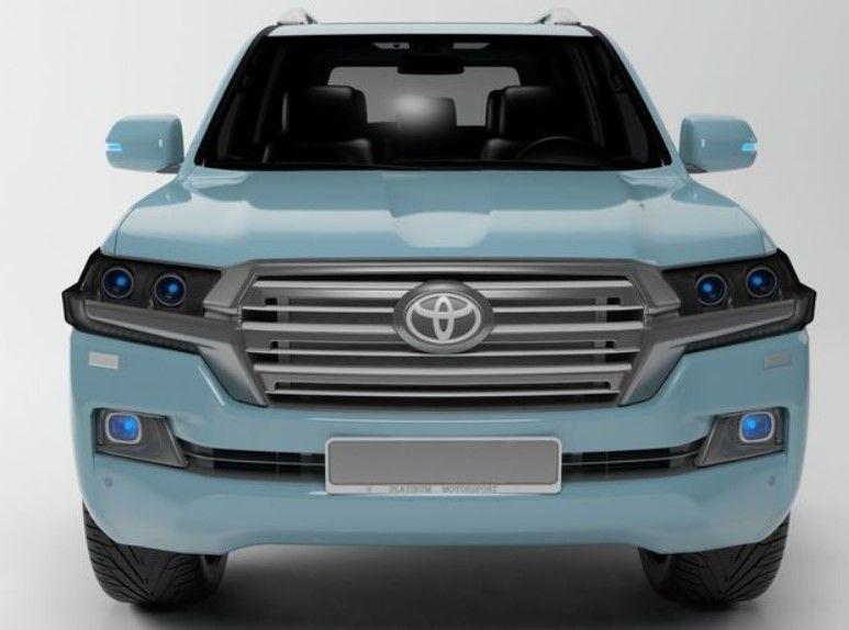Image Result For 2019 Toyota Landcruiser Blue V8 All Sports Cars