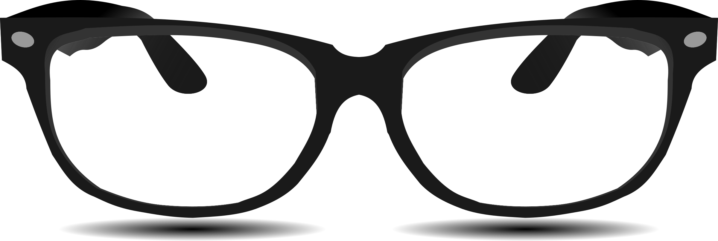 Glasses By Hatalar205 A Simple Glasses Clipart On Openclipart Glasses Clip Art Cat Eye Glass