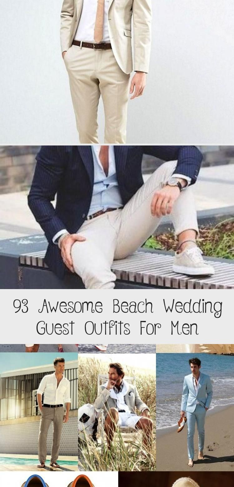 93 awesome beach wedding guest outfits for men in 2020