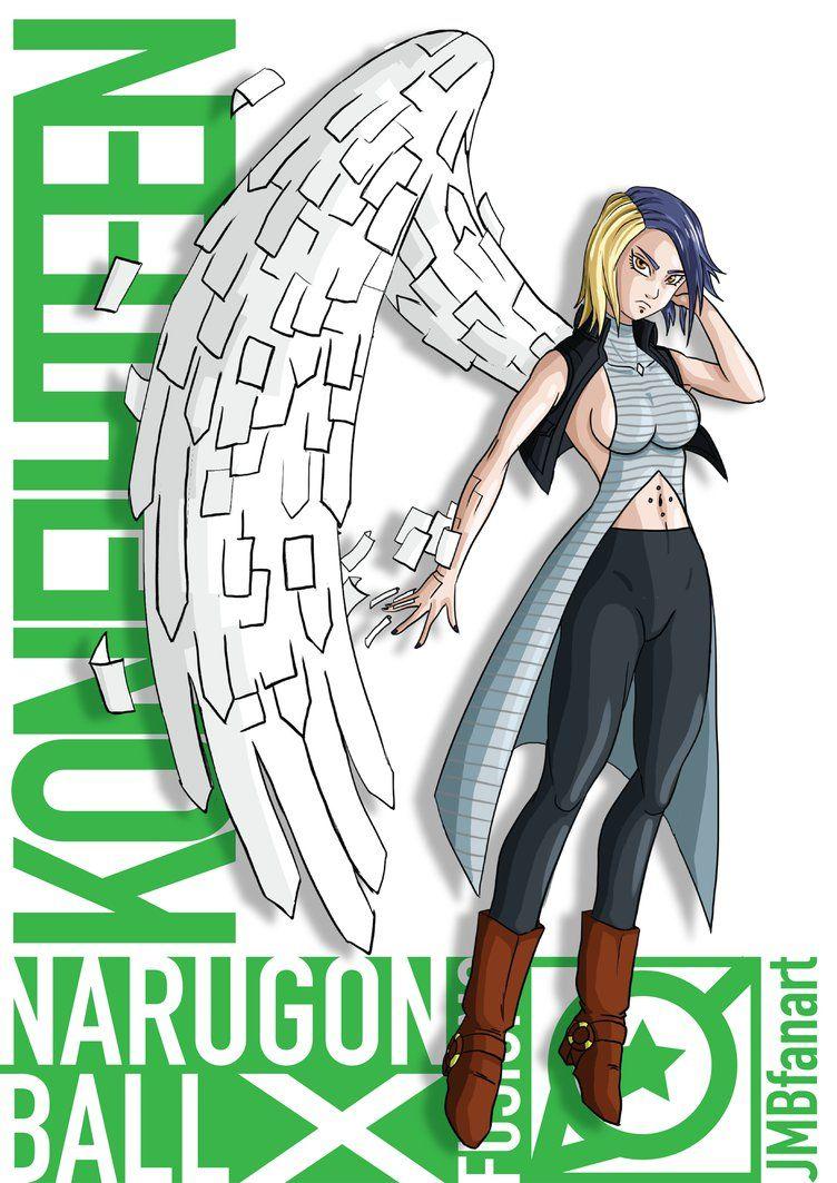 Koneighteen (Android 18 and Konan fusion) by JMBfanart on DeviantArt