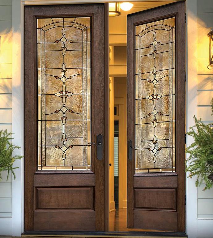 80 Classic Craft Mahogany Collection Fiberglass Doors With Bella