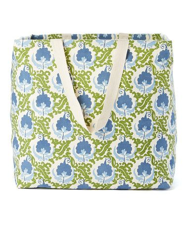Love this Isabella Blue Laundry Tote on #zulily! #zulilyfinds