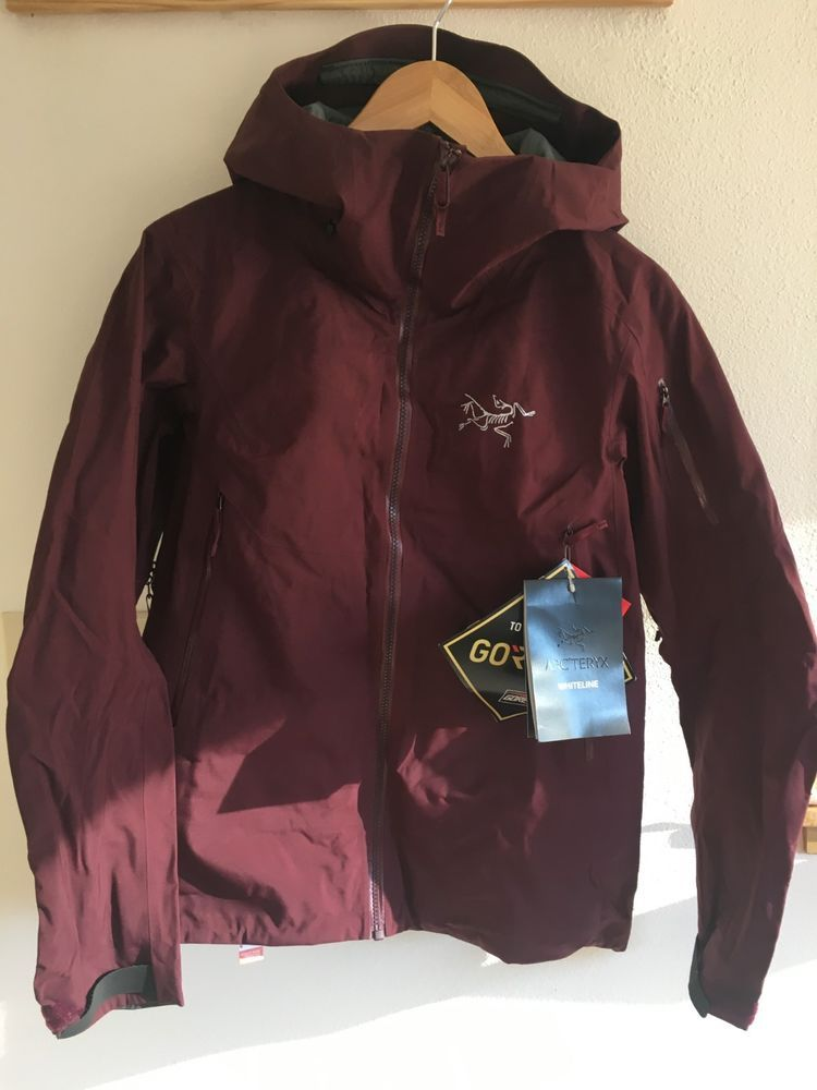 b4acc23f5 Arc'teryx Sentinel Jacket Women's Medium Crimson New With Tags Gore ...