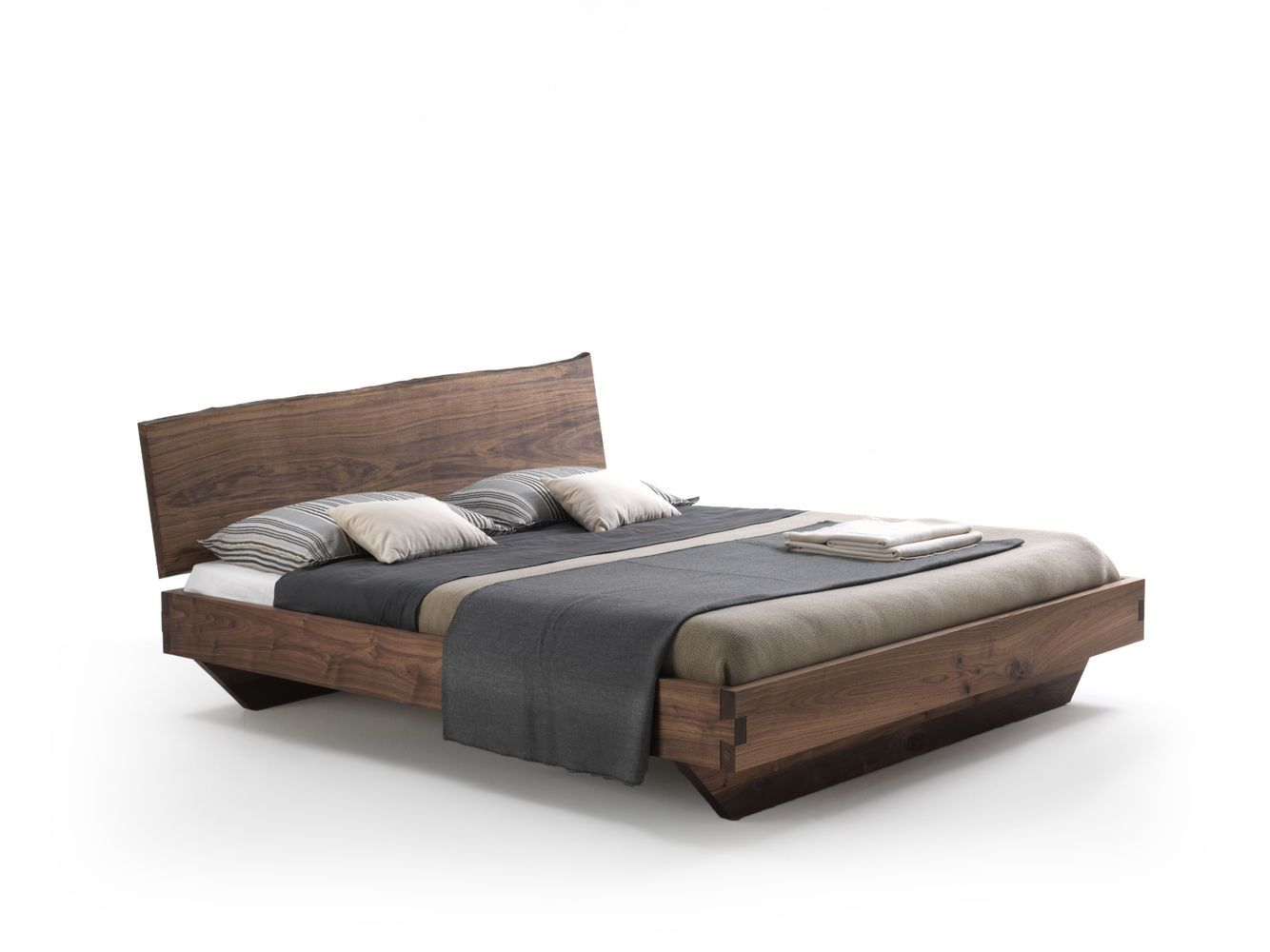 Natural Wood Beds by Ign. Design. - rustic knotty wood   Organic ...