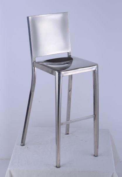 Emeco hudson bar stool-Polished.