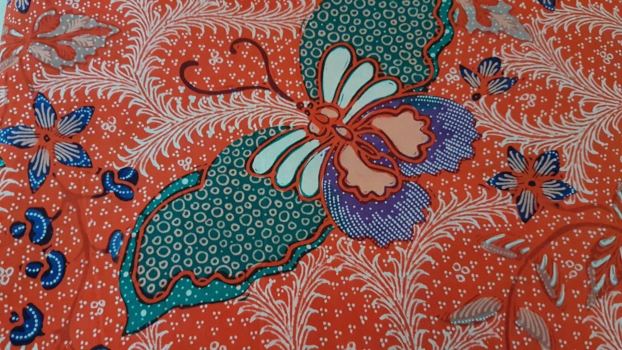 Batik Tulis Motif Kupu Kupu Di 2020 Kupu Kupu
