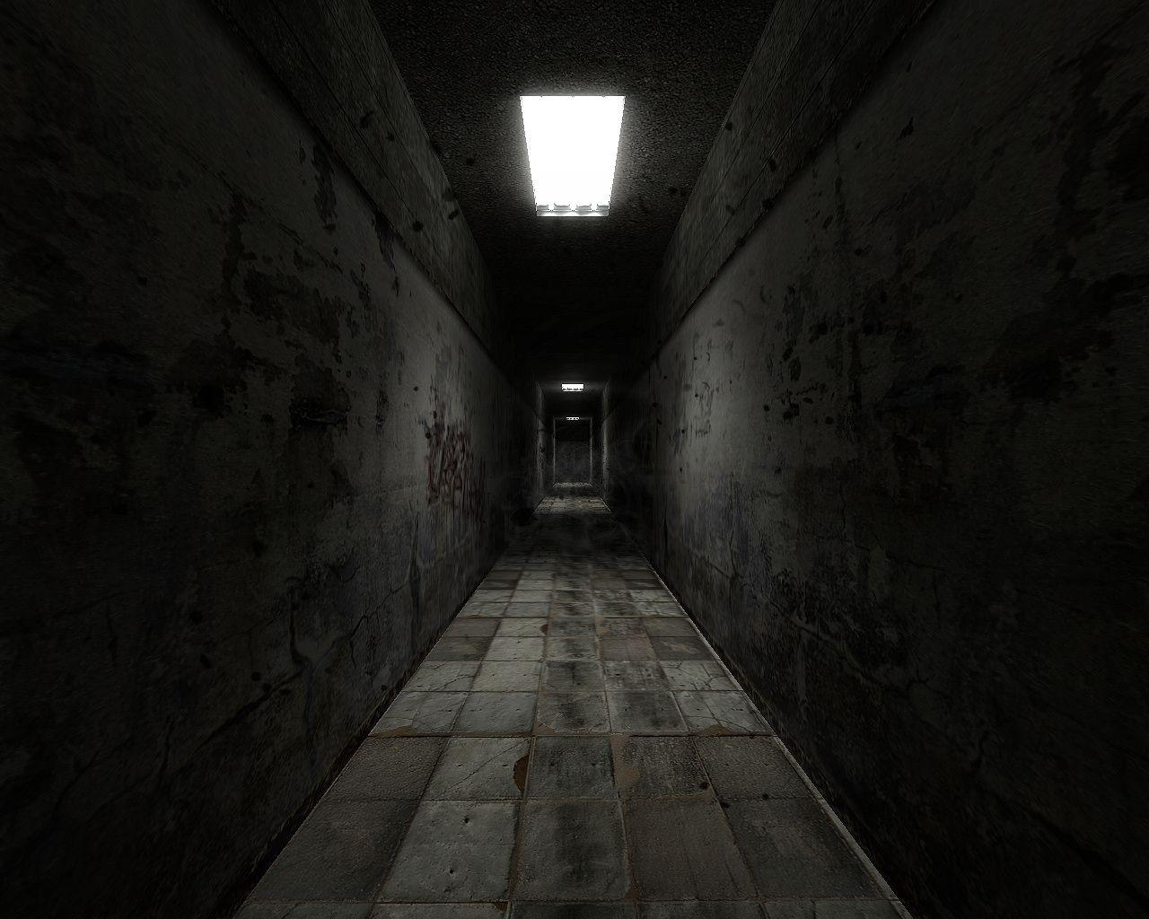 Картинки страшный коридор