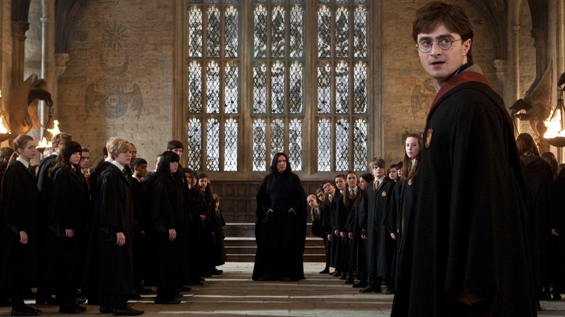 Harry Potter Und Die Heiligtumer Des Todes Teil 2 2011 Ganzer Film Deutsch Komplett Kino Das Ende Ist Nah Hogwarts H Severus Snape Harry Potter Alan Rickman