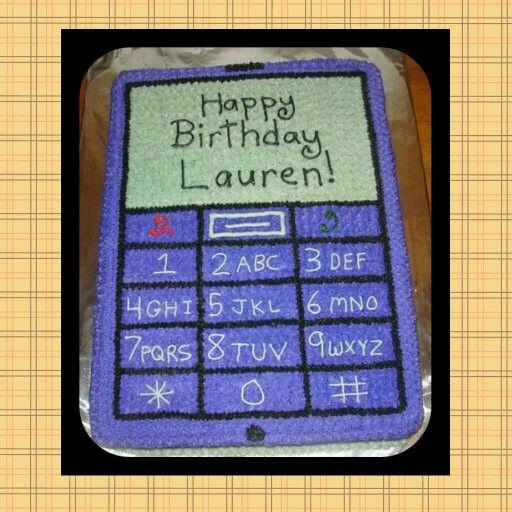 Cell Phone Birthday Cake Hello Kitty Cake Themed Cakes