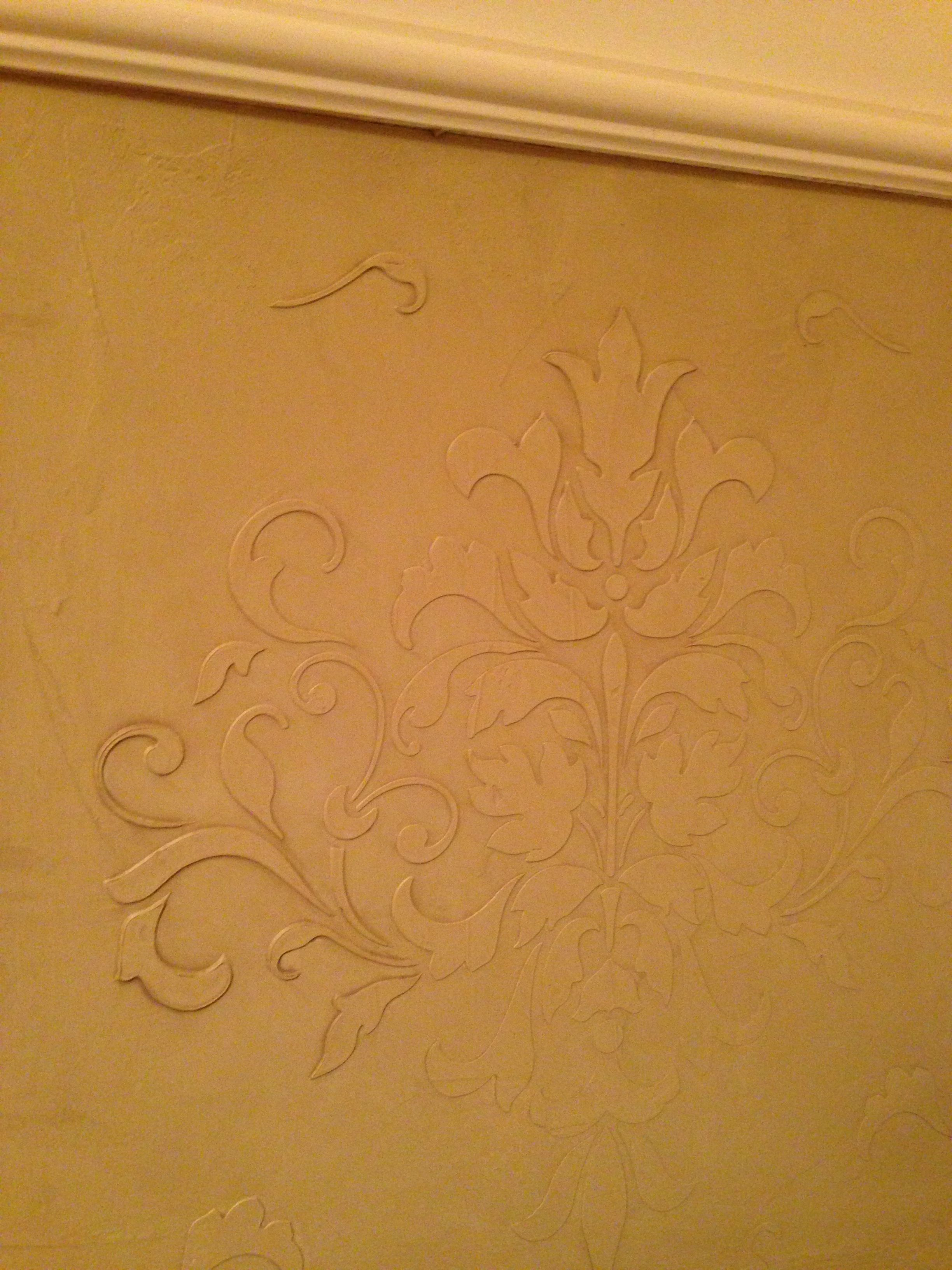 Faux Plaster Walls embossed venetian plaster. wall finish. | up up up and away