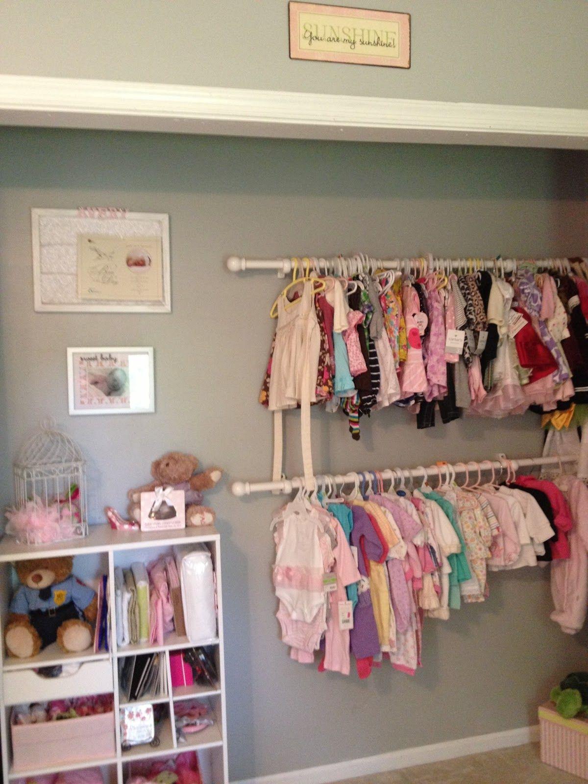 closet.JPG 27,27×27,27 pixels  Baby girls nursery, Baby girl room