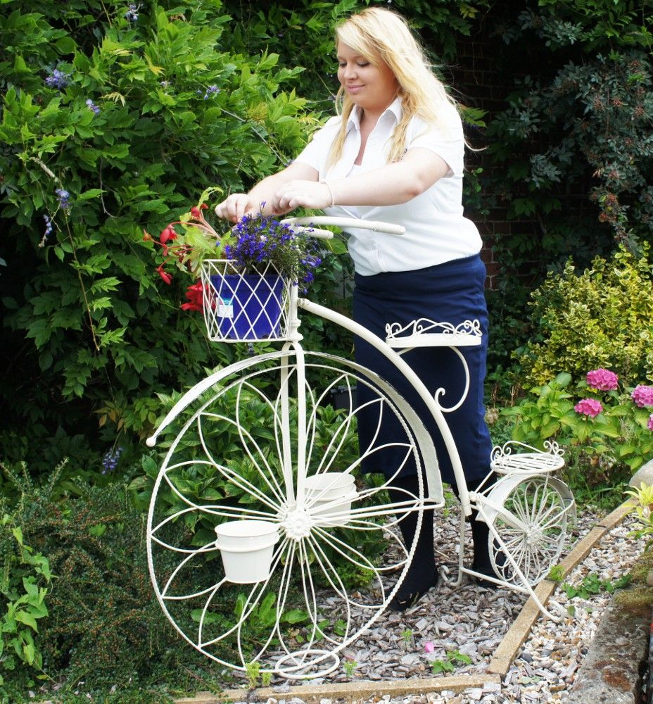 Penny Farthing Decorative Bike Planter - Decorative and Ornate ...