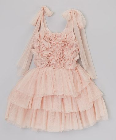 b1e5bc21 Rosette & Ruffle Tie Dress - Infant, Toddler & Girls #zulily #ad *whimsical